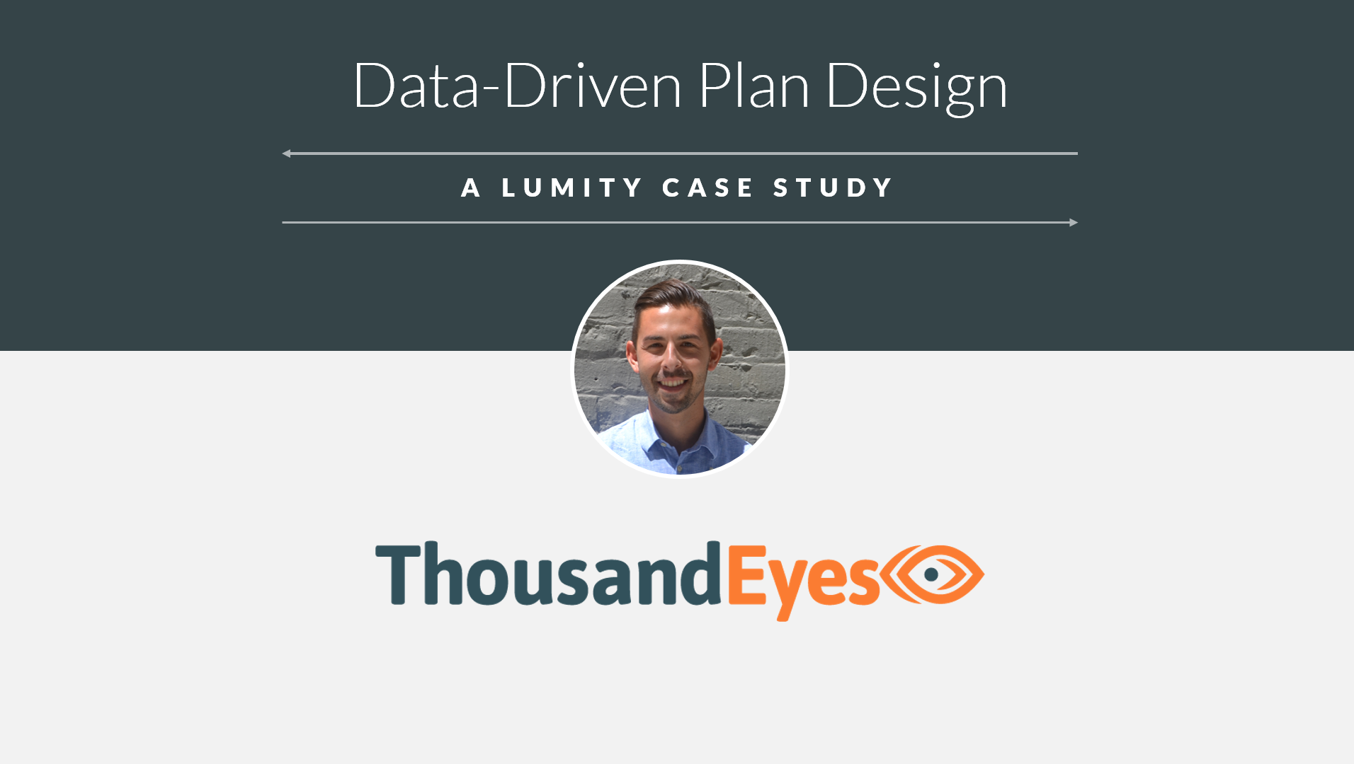 How ThousandEyes Gained a 15% Health Plan Savings
