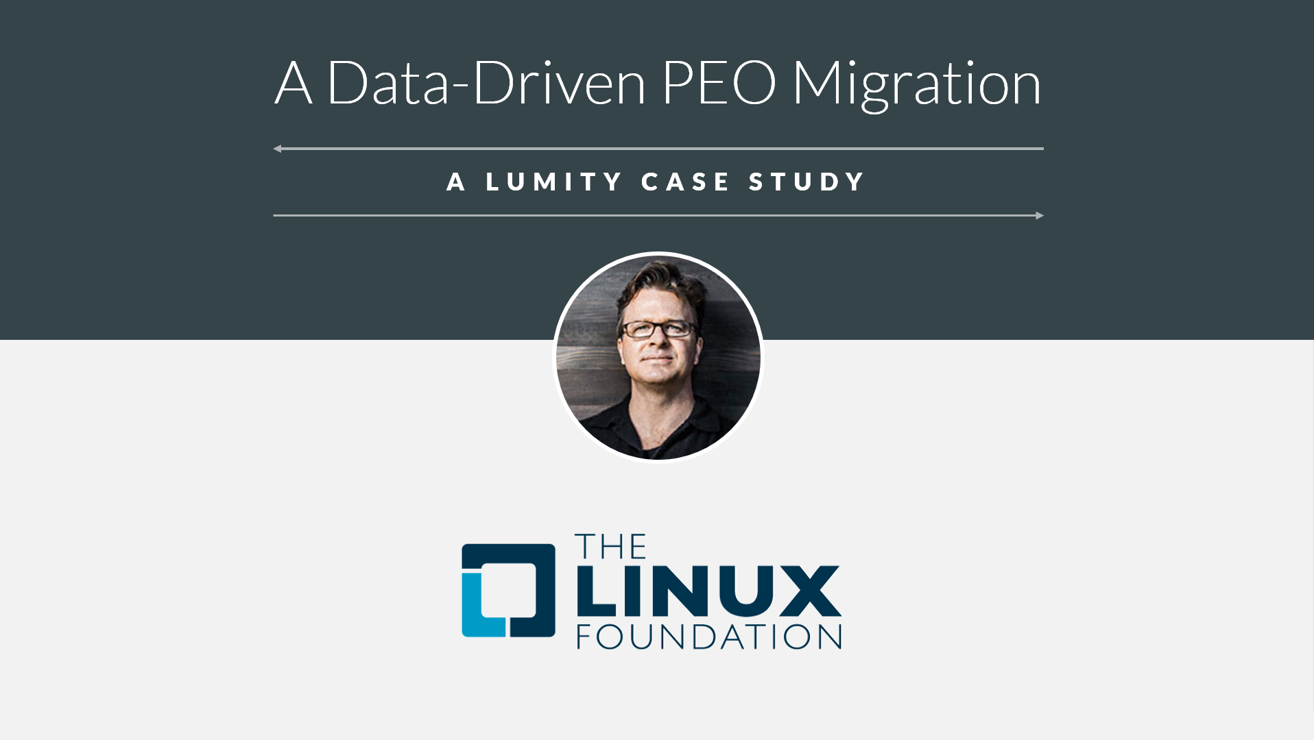 The Linux Foundation's Data-Driven PEO Migration