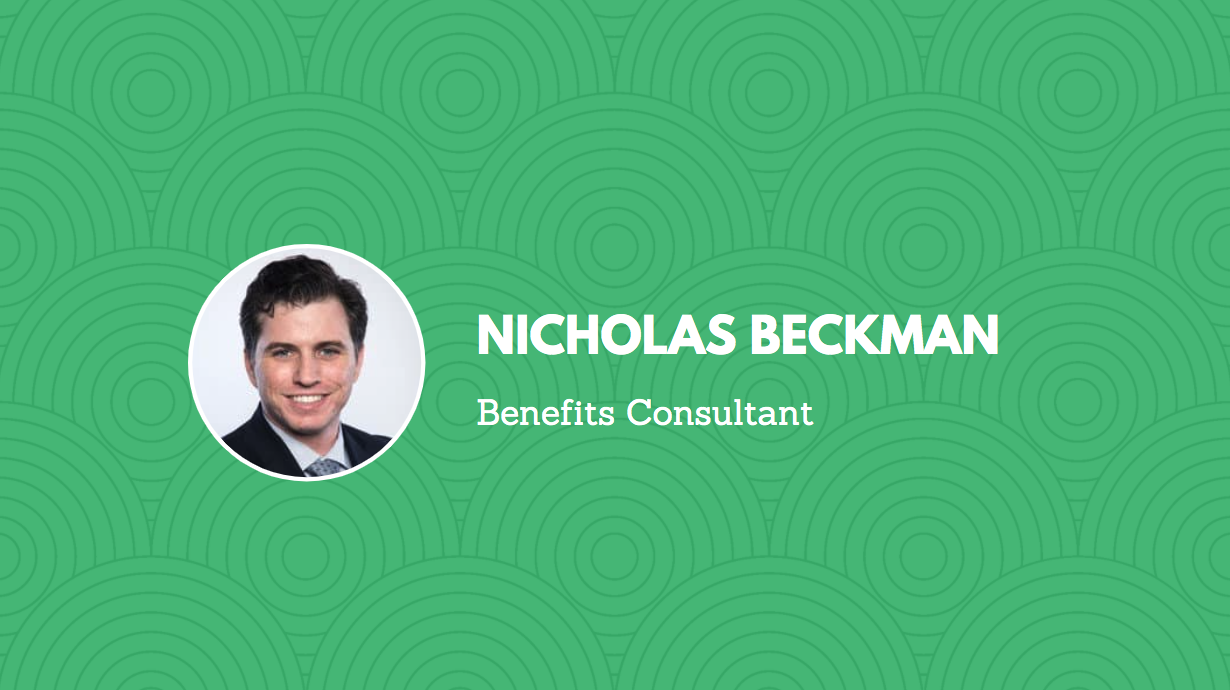 Lumity Welcomes New Benefits Consultant Nicholas Beckman