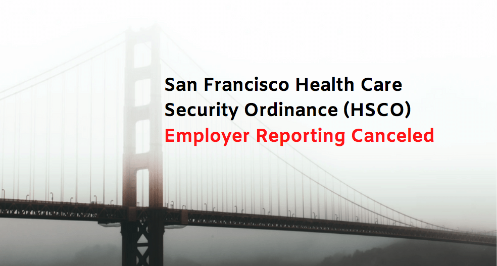 SF HCSO Required Employer Reporting
